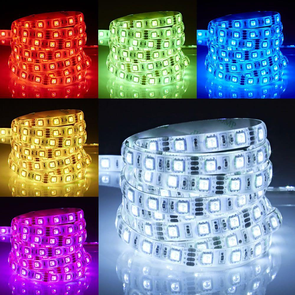 Biard IP65 Waterbestendige LED RGB 5050 strip verlichting - 5m