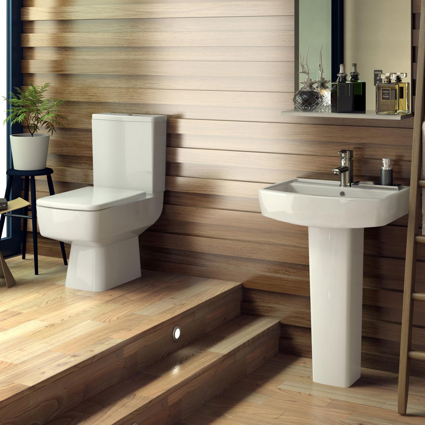 Wastafel en Toiletcombinatie Bliss