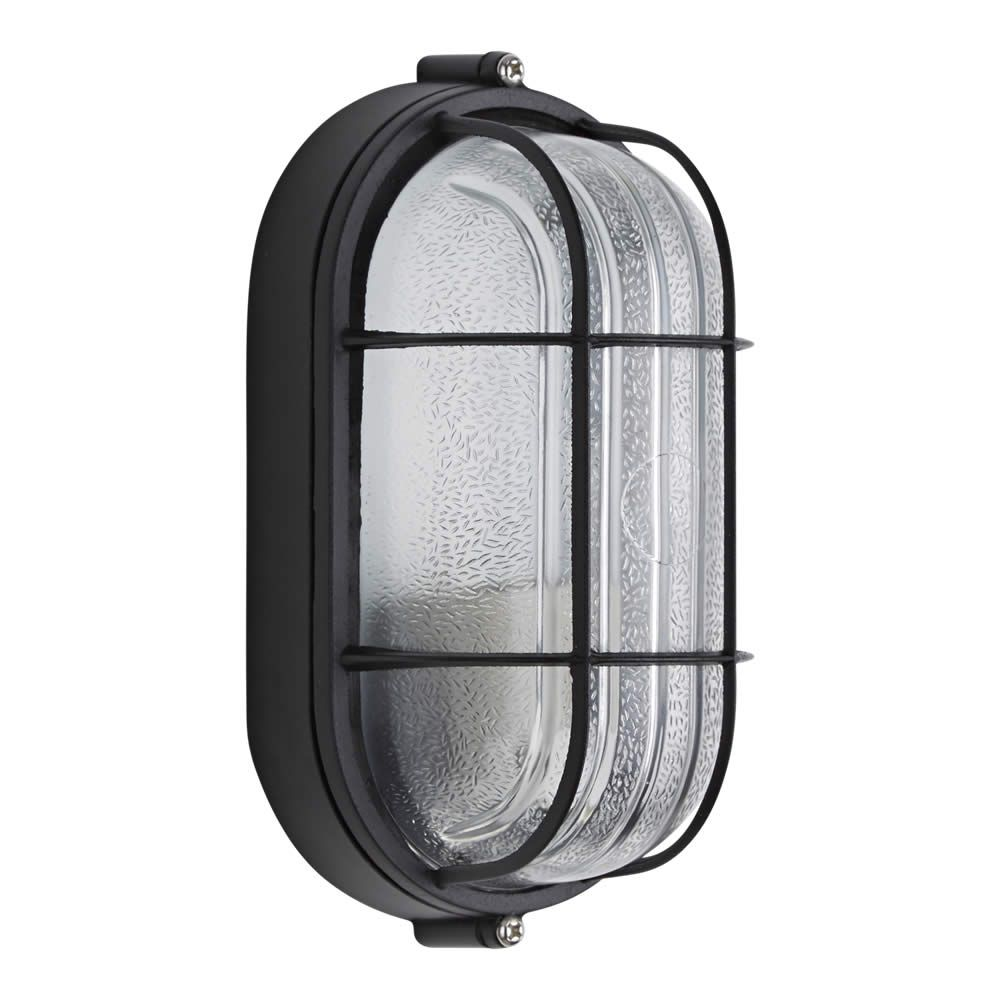 Biard Ovalen Zwarte Buitenlamp