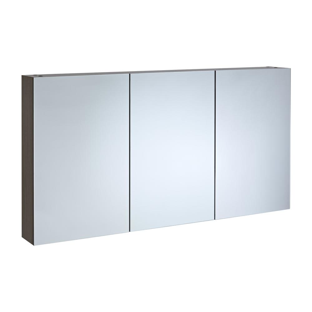 Spiegelkast 135 x 15 x 70cm - Eiken