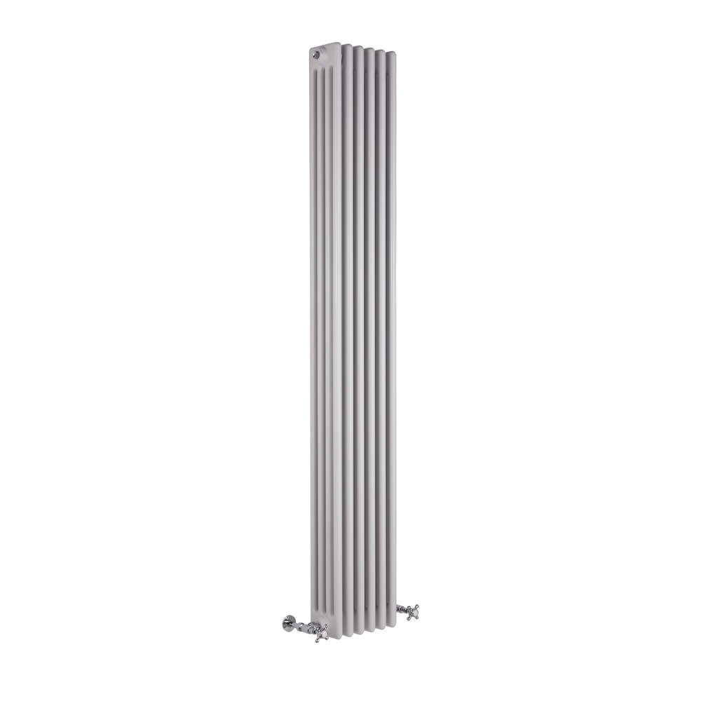Windsor Designradiator Verticaal Klassiek Wit 180cm x 27cm x 13,3cm 1615 Watt