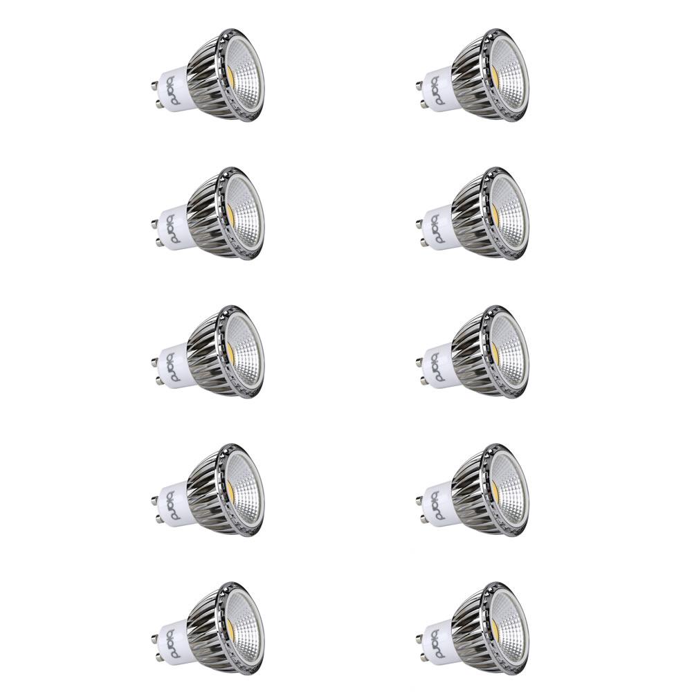 Biard 10 x GU10 5W Dimbare COB LED Spot - Vervangt 50W - Dimbaar
