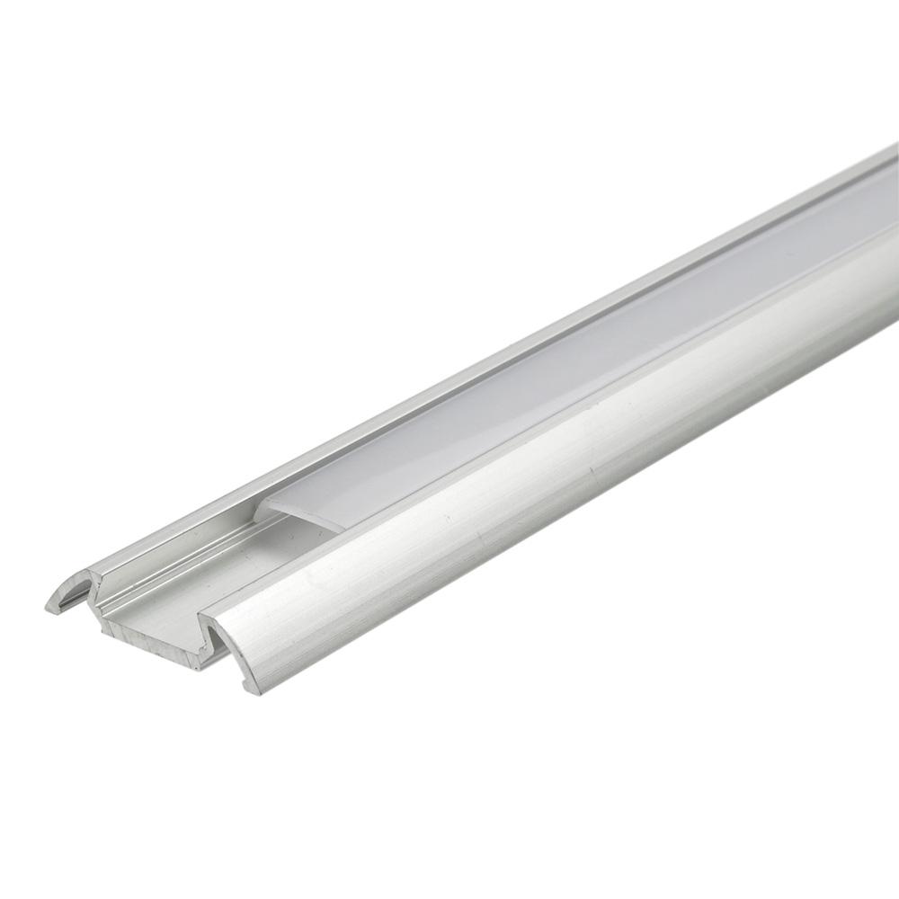 Biard 5 x 1 Meter Aluminium Slimline Profiel voor LED Stripverlichting - Doorzichtig of Mat