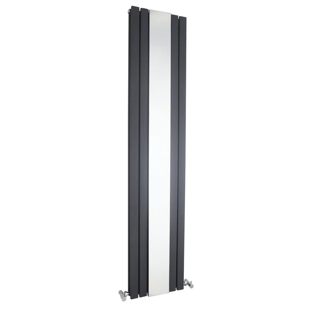 Sloane Designradiator Verticaal Antraciet 180cm x 38,1cm x 13cm 1682 Watt