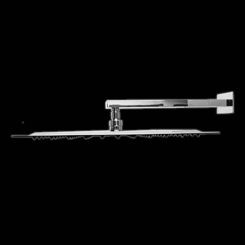 Vierkante RVS Hoofddouche 40x40cm met Douche-arm