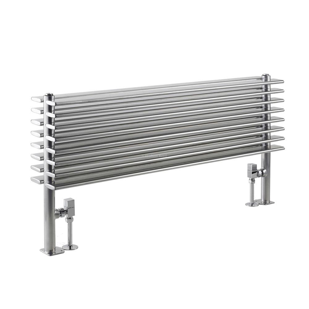 Parallel Designradiator Horizontaal Zilver 50,4cm x 100cm x 14,6cm 1016 Watt