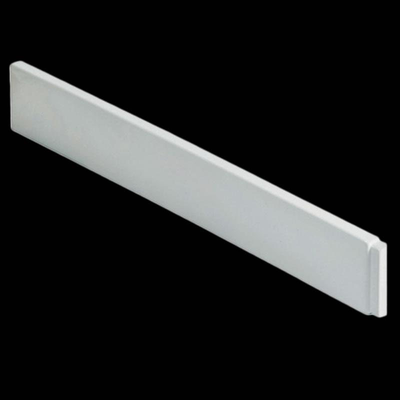 Losse plint voor de Pearlstone douchebakken - 100cm x 10,5cm