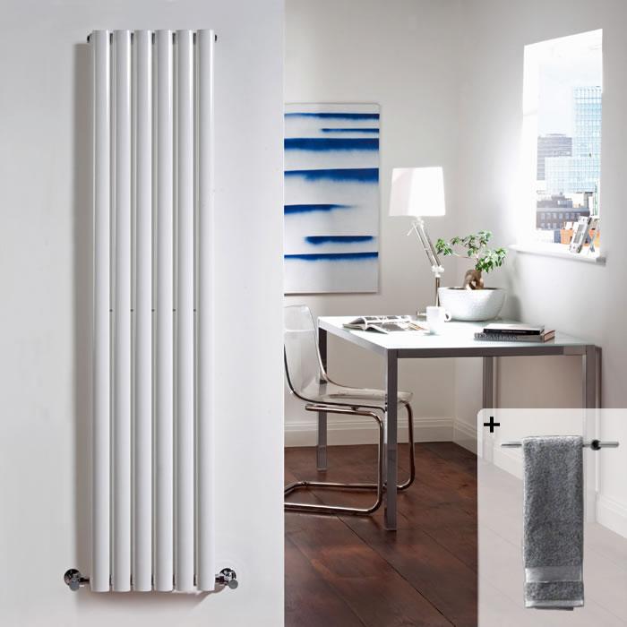 Revive Designradiator Verticaal Wit 160cm x 35,4cm x 10,5cm 1014 Watt