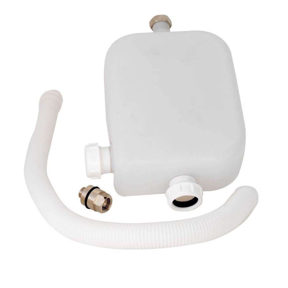 Bad Jerrycan / container voor de handdouche van de bad bevestigende badmengkranen