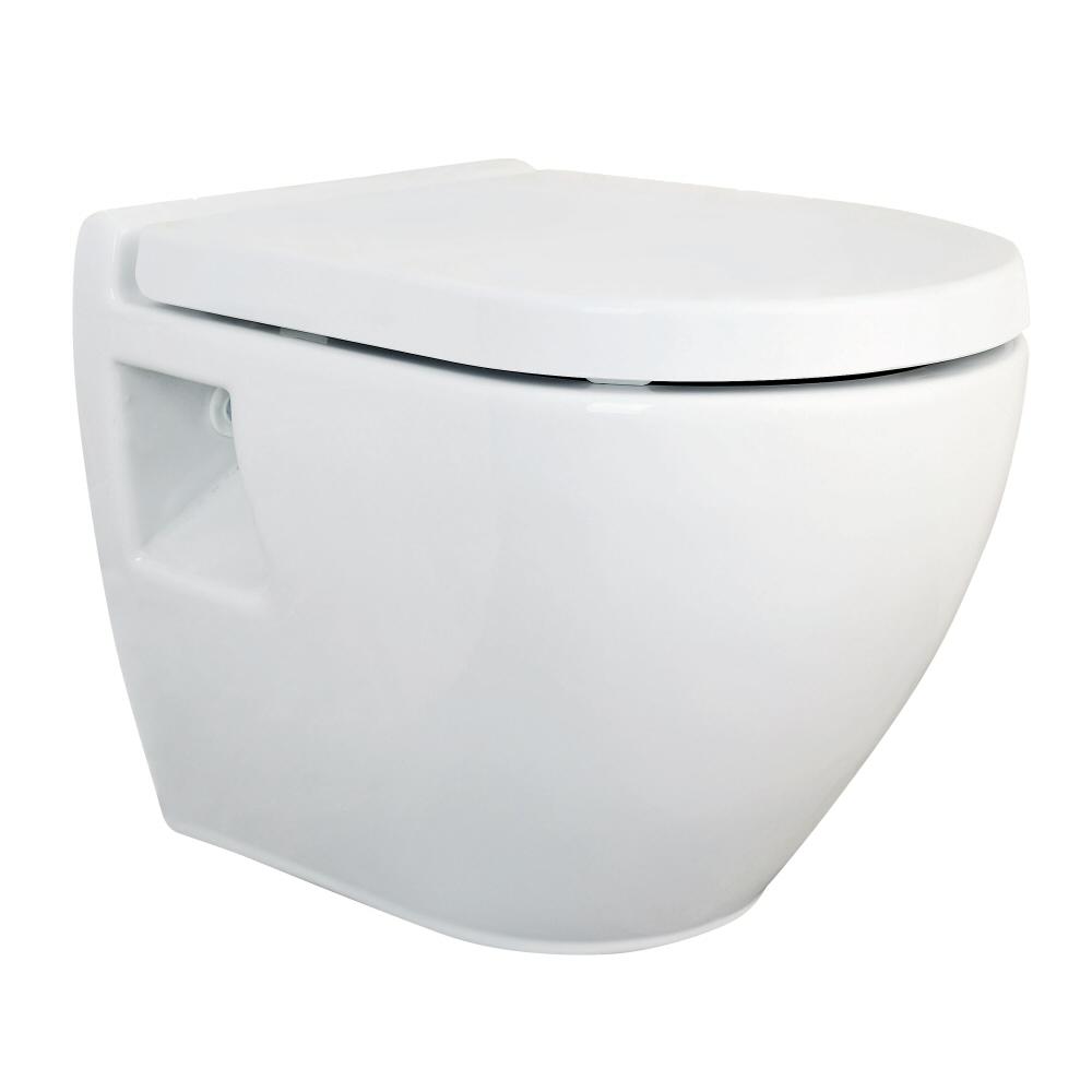 Zwevend Keramisch Toilet incl Toiletzitting - PK Uitlaat