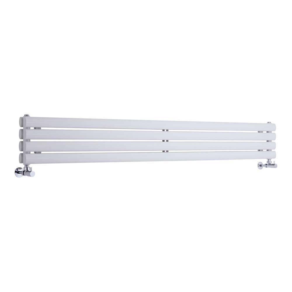 Revive Designradiator Horizontaal Wit 23,6cm x 160cm x 5,6cm 815 Watt