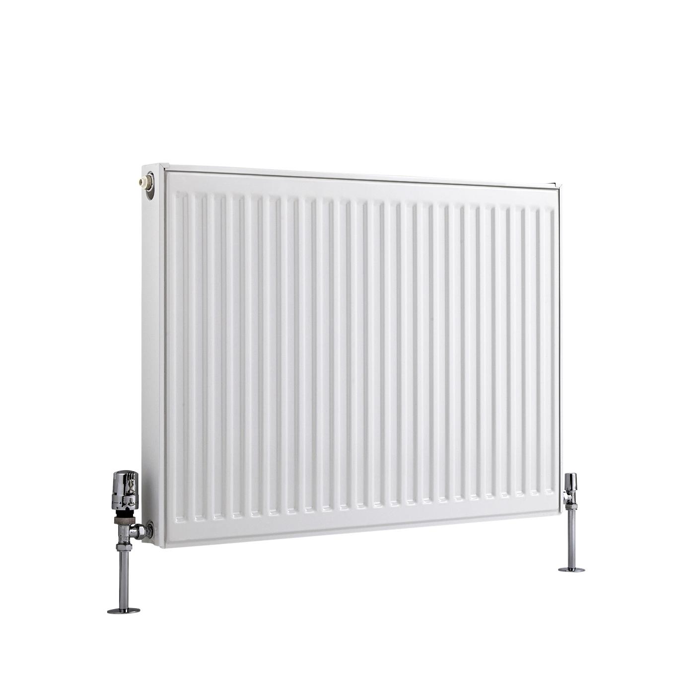 Basic Paneelradiator T 11 Horizontaal Wit 60cm x 80cm x 5cm 741 Watt