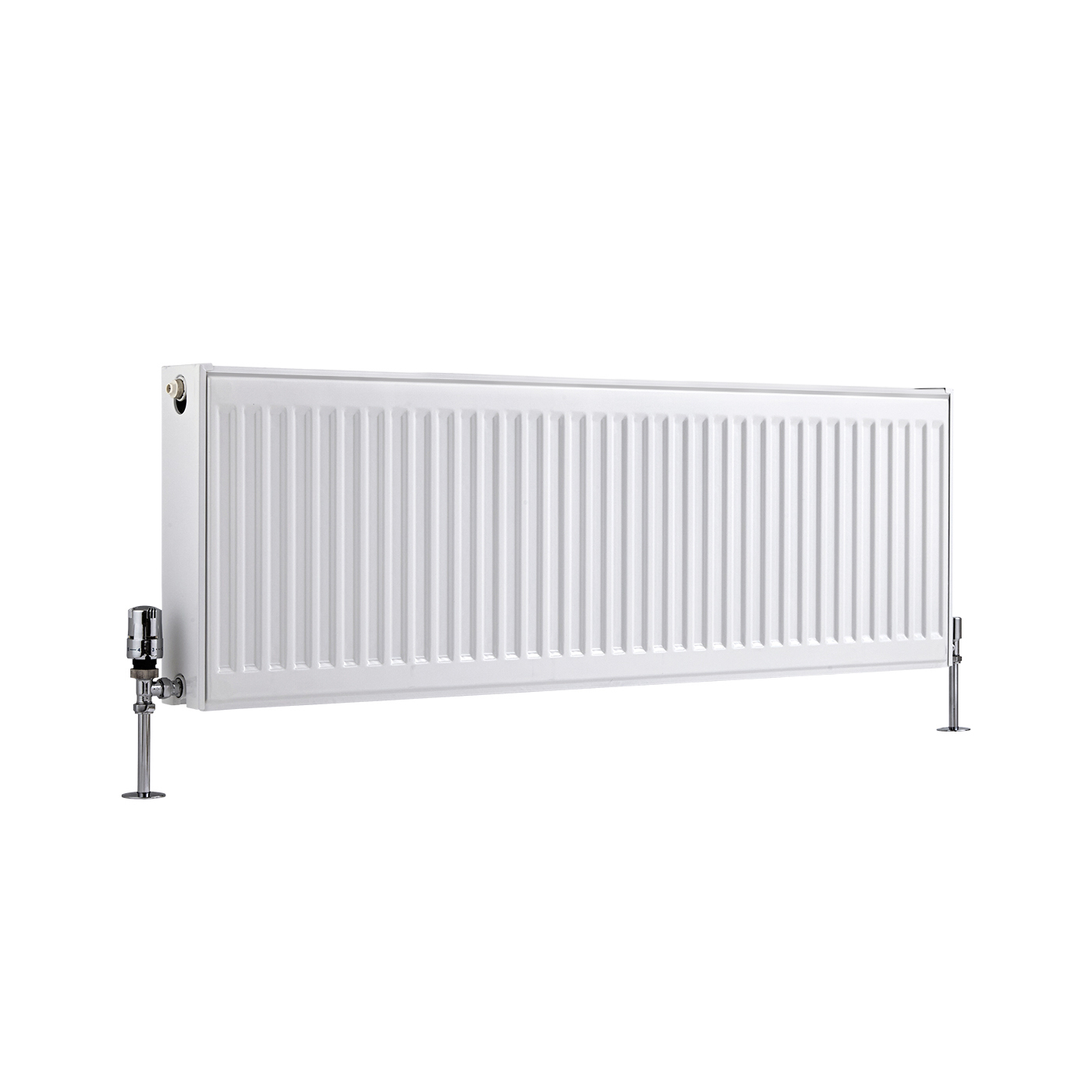Basic Paneelradiator T 22 Horizontaal Wit 40cm x 120cm x 10,3cm 1387 Watt