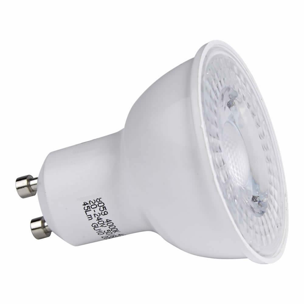 1 x GU10 4,8W LED Spot - Vervangt 50W