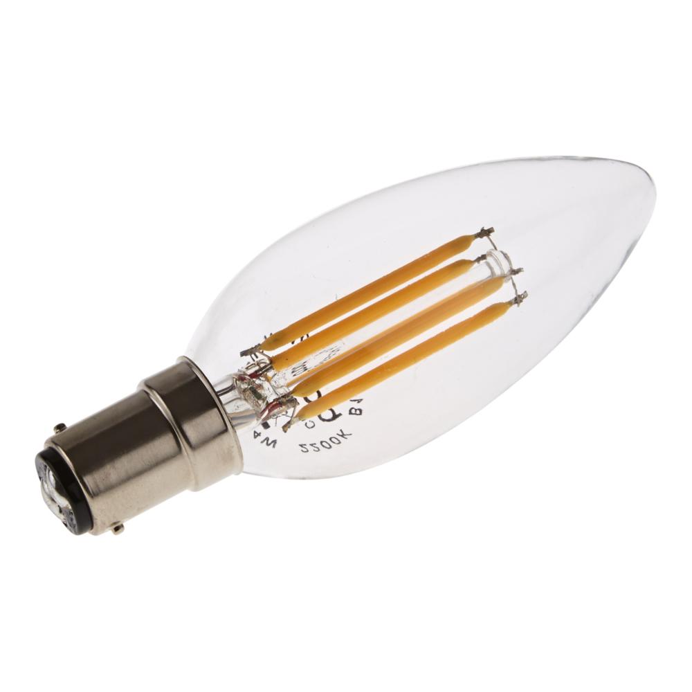 4W B15 Retro LED Gloeilamp - Kaars