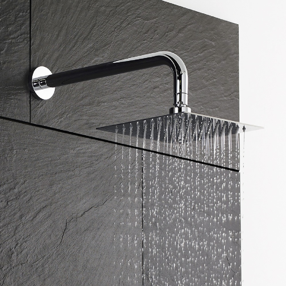 Waterbesparende Vierkante RVS Hoofddouche 20x20cm