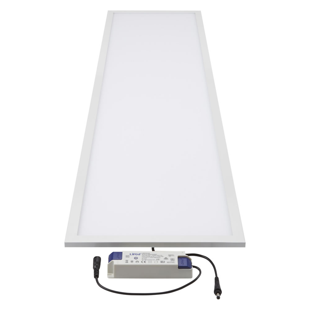 1 x 40W LED Paneel 30cm x 120cm x 9cm incl LED Driver
