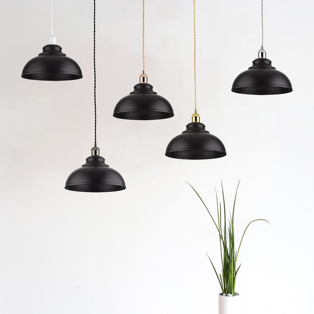 Biard Dalston Hanglamp Zwart E27 (keus uit 5 fitting kleuren)