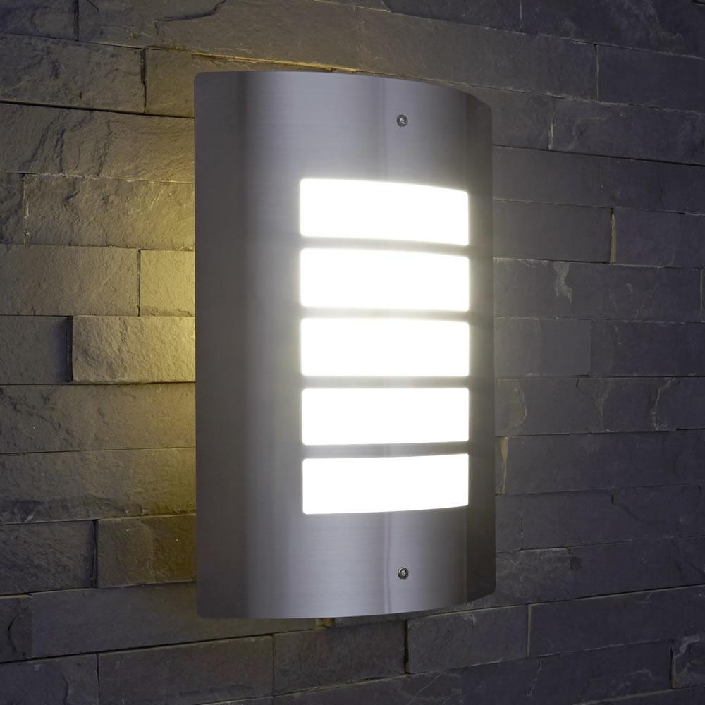 Biard Orleans RVS Buitenlamp (verticale uitvoering) RVS