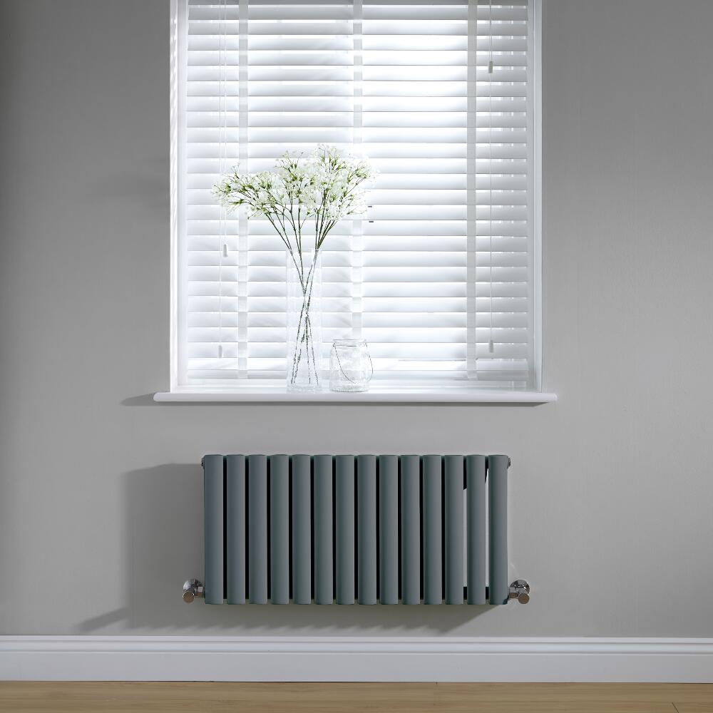 Revive Design Radiator Horizontaal Antraciet 40cm x 83,4cm x 5,6cm 569Watt