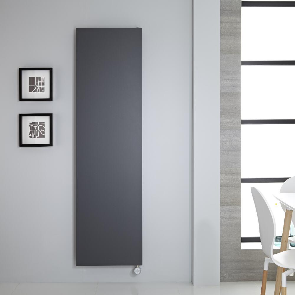 Elektrische Rubi Stalen Plaatradiator incl. Verwarmingselement - Antraciet- 180cm x 50cm