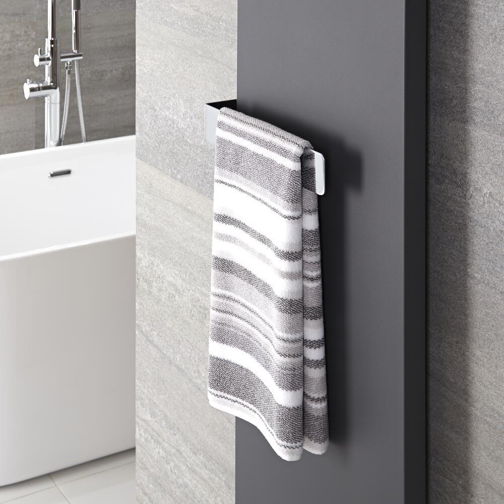 Verchroomd Staal Handdoekrek - 6 x 32 x 12,5 cm