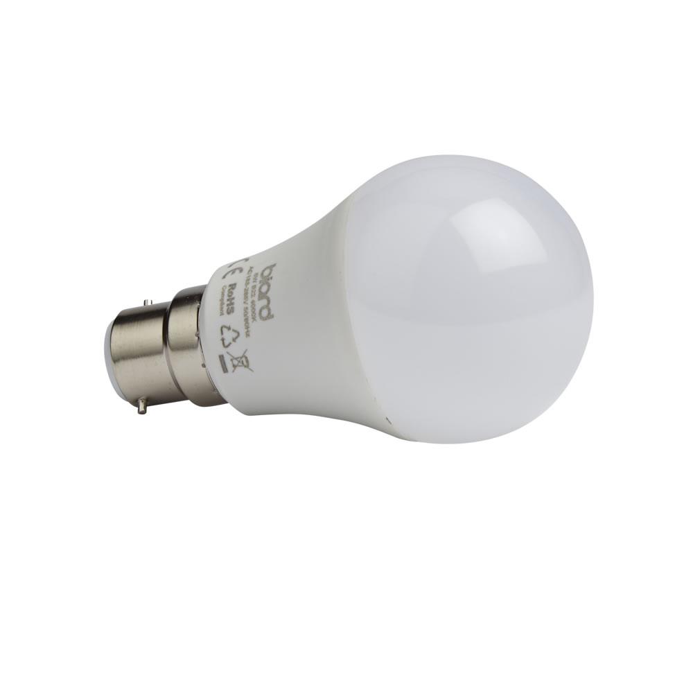 Biard 6 x LED Gloeilamp 5W B22 Niet Dimbaar