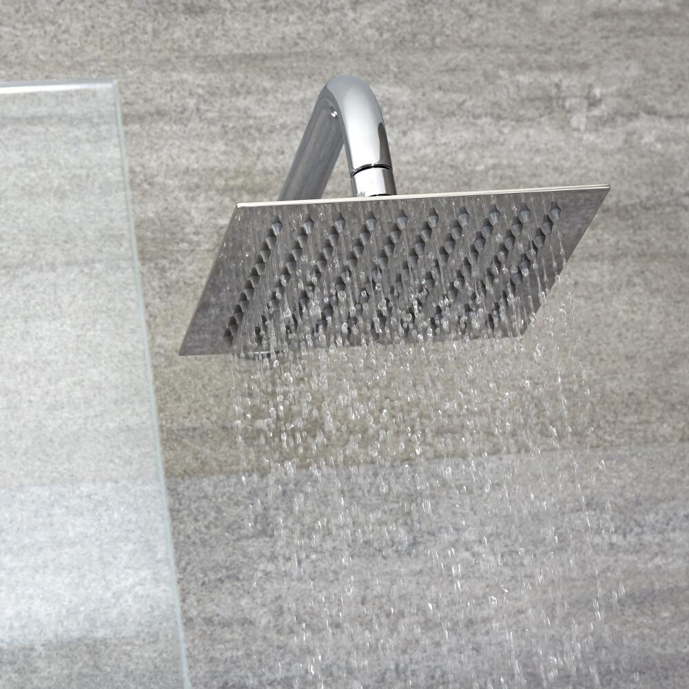 Vierkante RVS Hoofddouche - 20x20cm