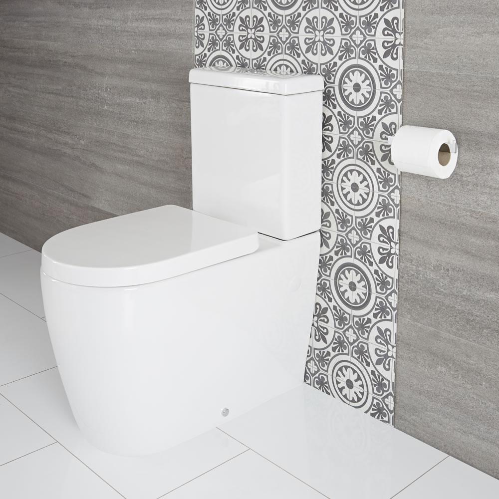 Duoblok Keramisch Toilet Incl Zachtsluitende Wc Bril | Otterton