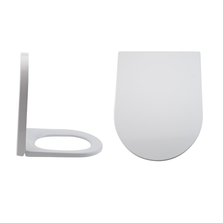 Rivington Duroplast Zachtsluitende Toiletbril Easy Fix &  Bovenaansluiting