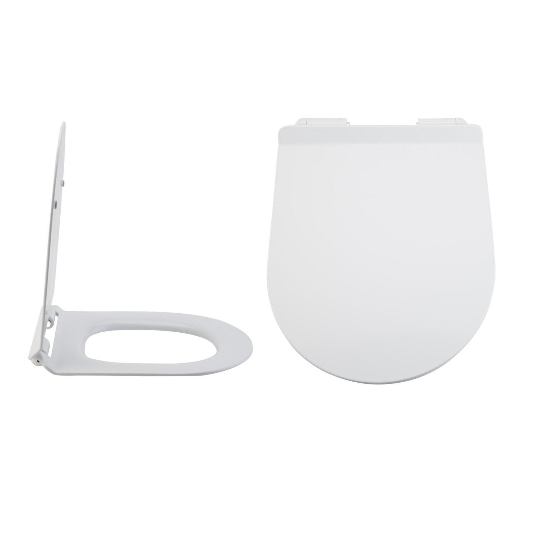 Duroplast Zachtsluitende Toiletbril Easy Fix &  Bovenaansluiting | Otterton
