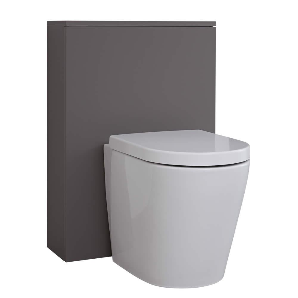 Newington Toilet Ombouw Mat Grijs 60cm