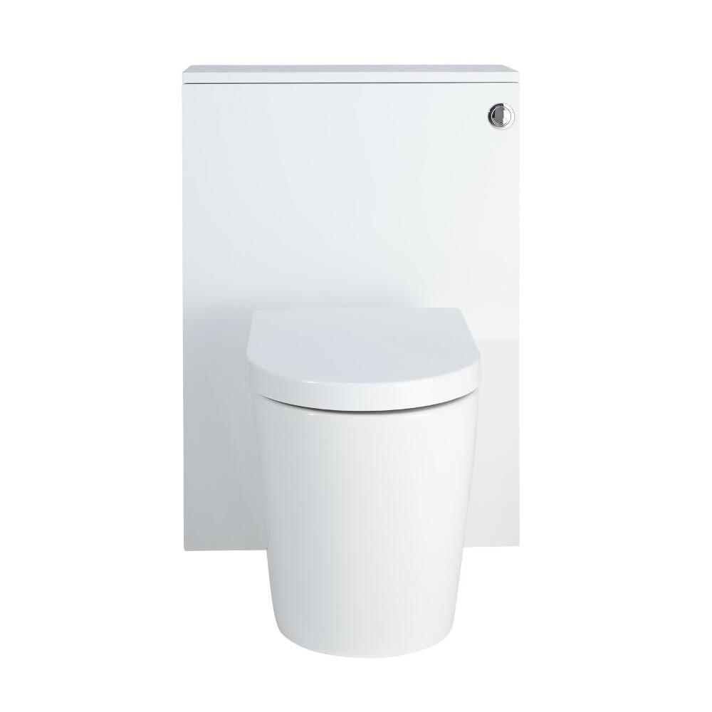 Staand Keramisch Toilet + Stortbak Ombouw + Stortbak 3/6L Mat Wit - Newington