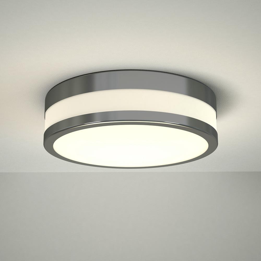 Nemi LED Badkamer Plafondlamp Rond d. 23cm Chroom 12W LED IP44