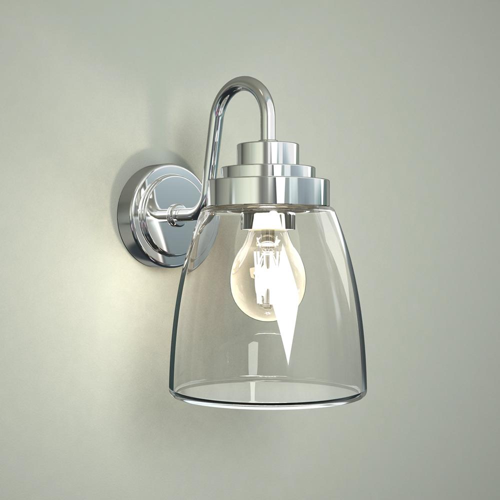 Yogo 25W Gebogen Badkamer Wandlamp 15 x 21,5 x 25,5 cm