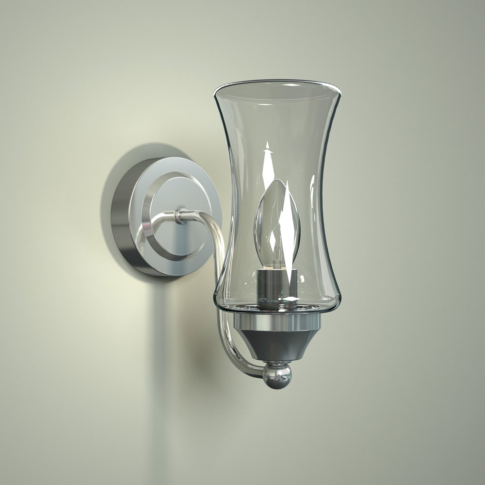 Almsee IP44 E14 Gebogen Badkamerlamp - Wandlamp