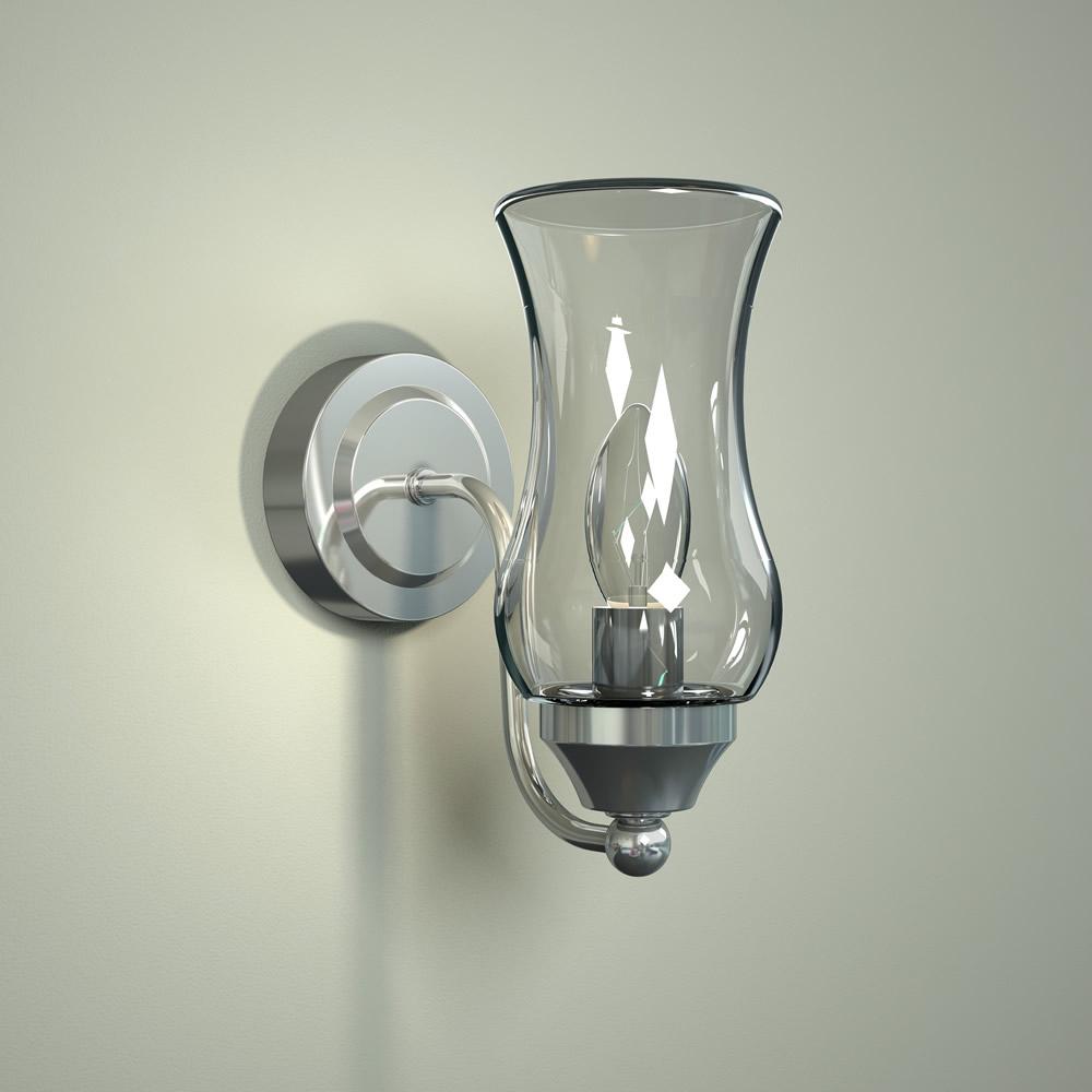 Almsee IP44 E14 Badkamerlamp-  Wandlamp