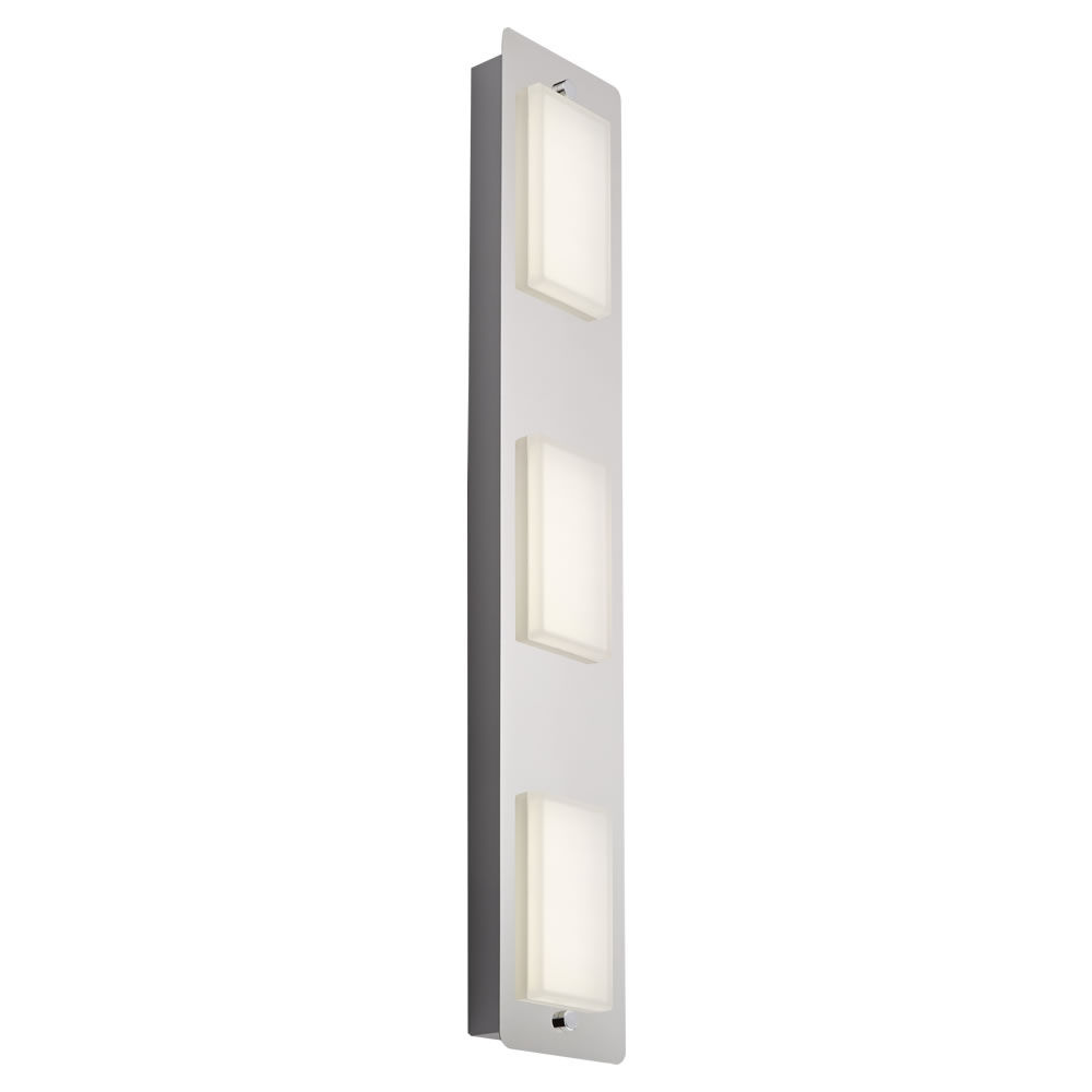 Biard Glacier Plafondlamp/ Wandlamp LED IP44 13W (3 lampen uitvoering)