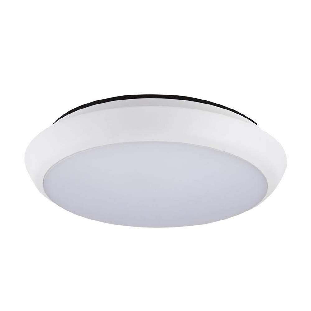 Biard 12W Plafondlamp - Ø200 x 48mm - Koel & Warm Wit - IP54