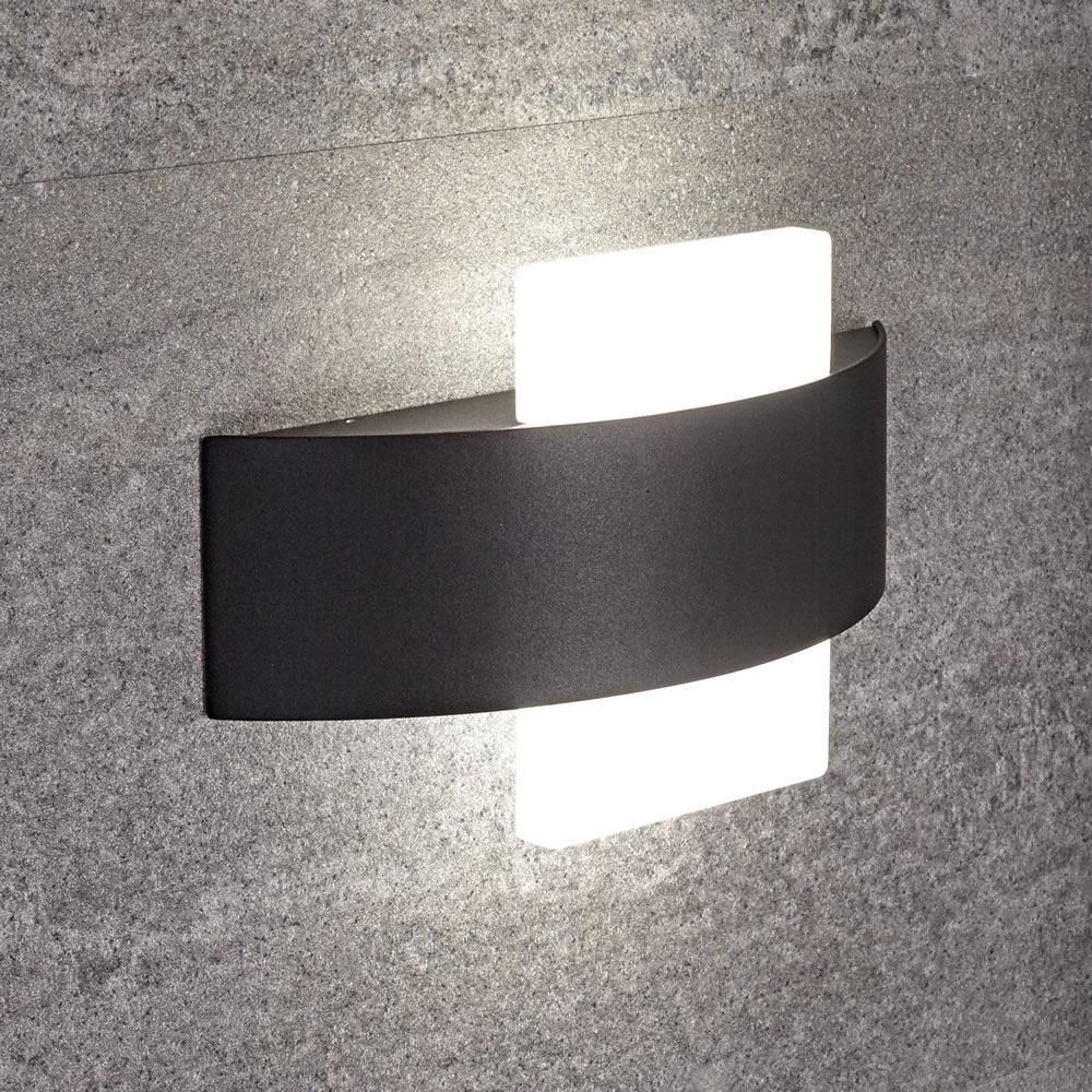 Biard Aqua Vierkante Wandlamp Wit 11W SMD LED IP54