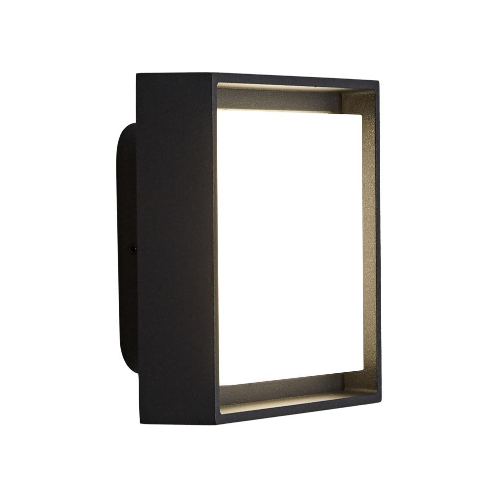 Turin 10W LED Wandlamp IP65 Binnenhuis - Verkrijgbaar in Antraciet & Zwart