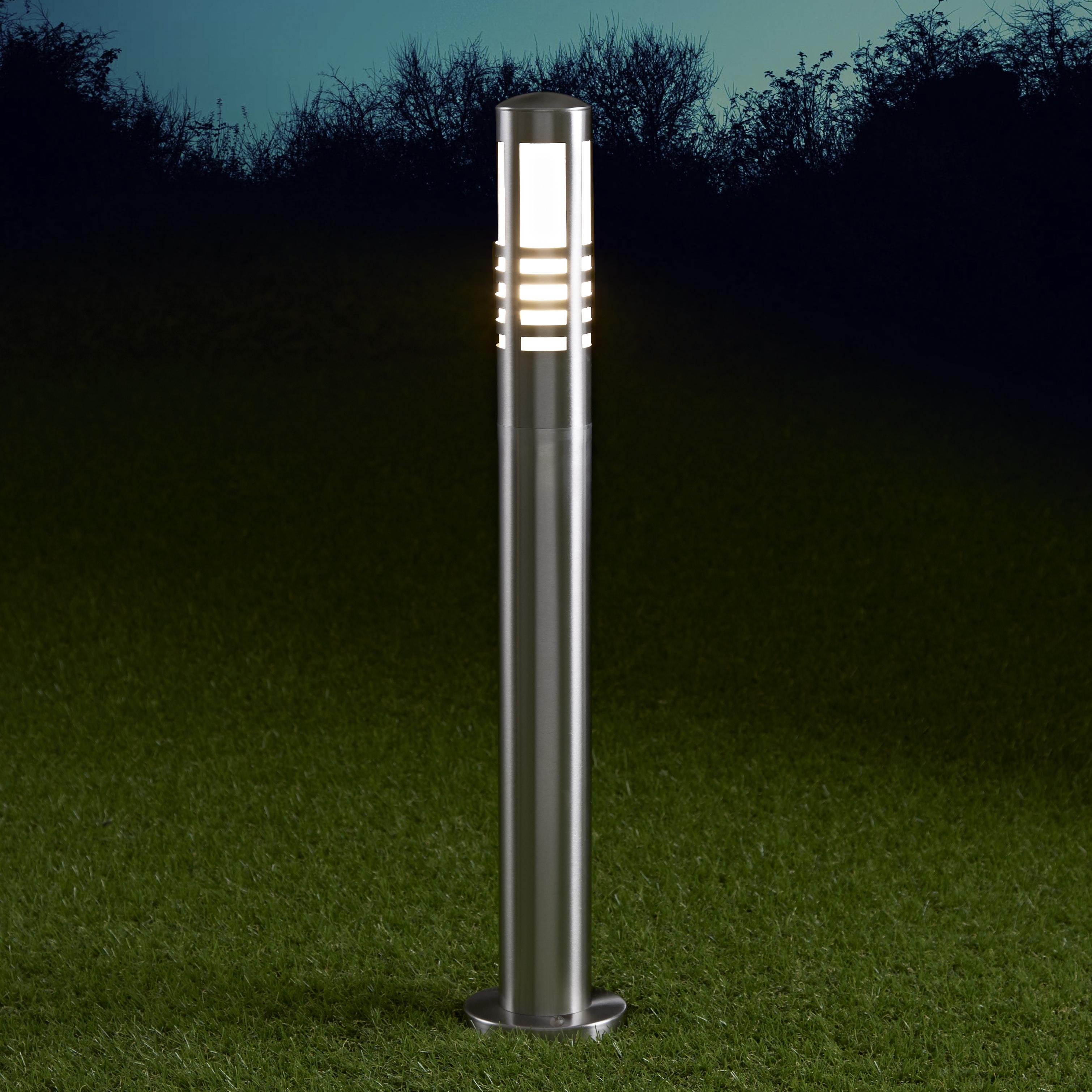 Orleans Dimbare Sokkellamp 60cm RVS E27 IP44