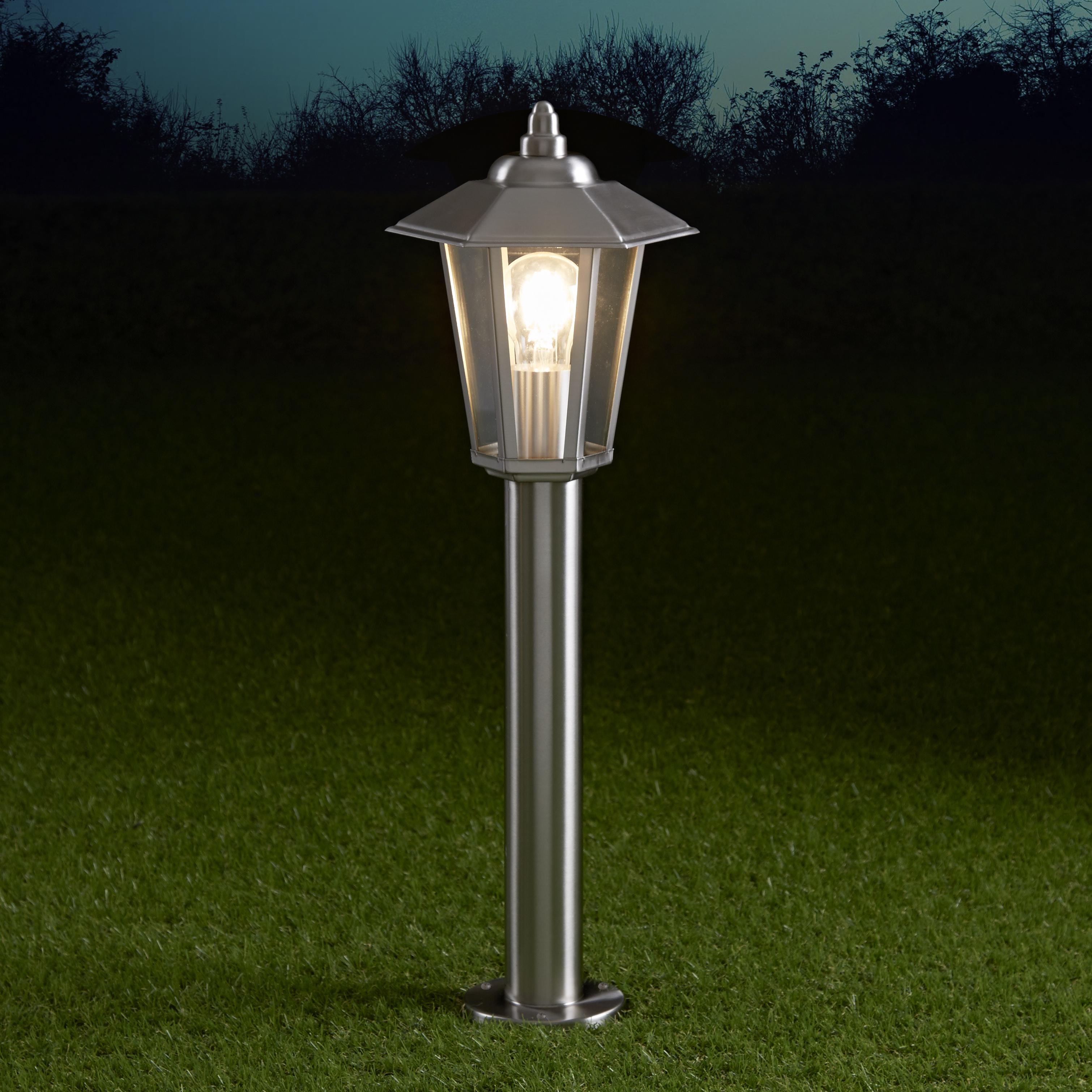 Biard Cannes Dimbare Sokkellamp 60cm RVS E27 IP44
