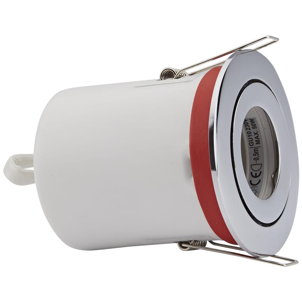 IP20 GU10 Inbouwspot Kantelbaar Excl Lamp Keus Uit 3 x Omlijstingen Rond