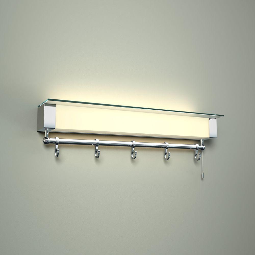 Wandplank Met Led Verlichting.Achen Led Badkamer Wandplank Met Led Lamp Ip44