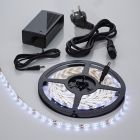 Biard Waterbestendige LED 3528 strip verlichting incl Driver & Kabel - 5 meter - Wit