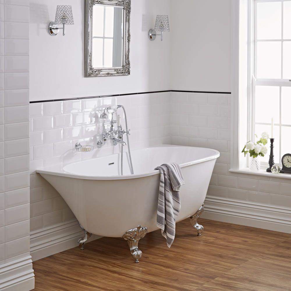 acryl bad incl badpoten 155cm x 75cm x 64cm. Black Bedroom Furniture Sets. Home Design Ideas