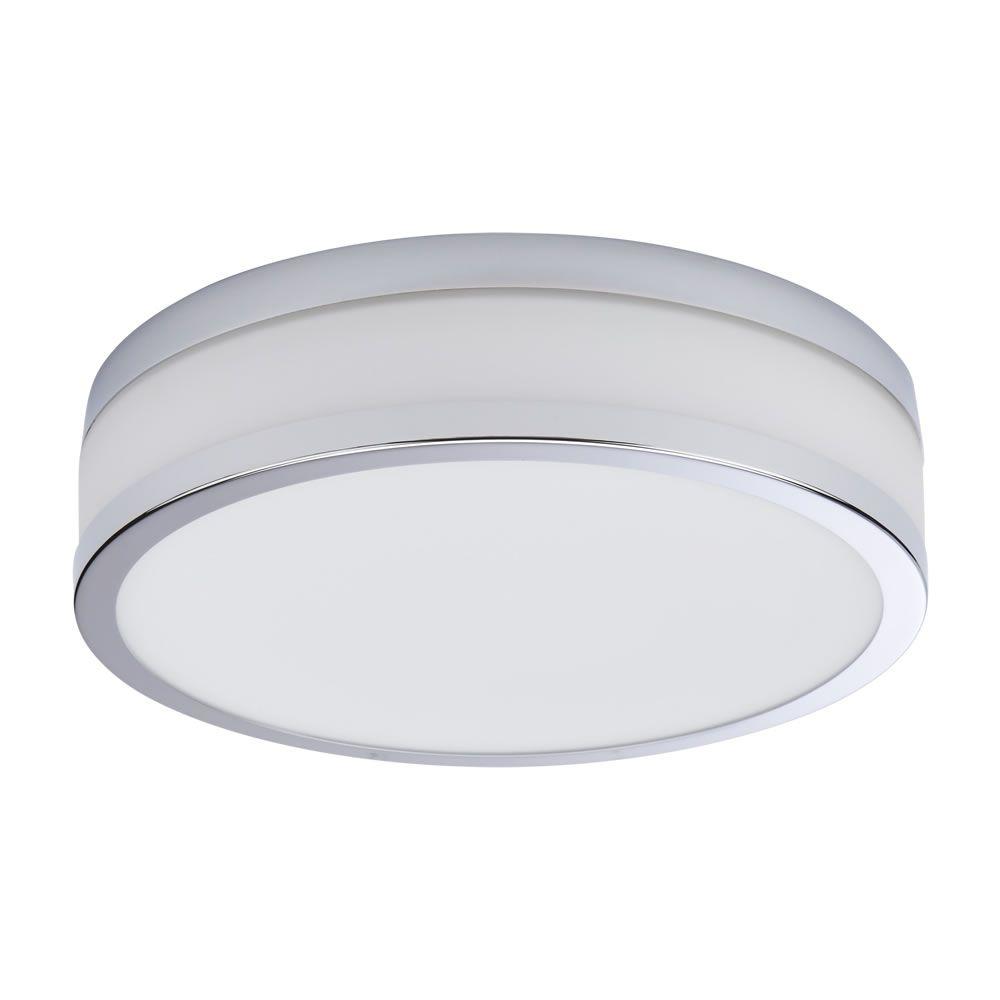 Nemi LED Badkamer Plafondlamp Rond d. 29cm Chroom 18W LED IP44