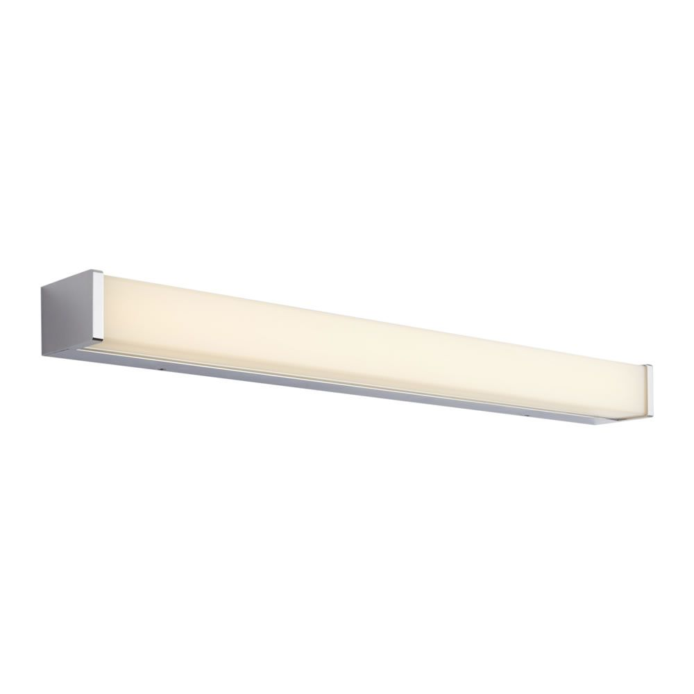Omedeo LED Badkamer Wandlamp Vierkant 60 x 7 x 4.5 cm 12W Chroom LED ...