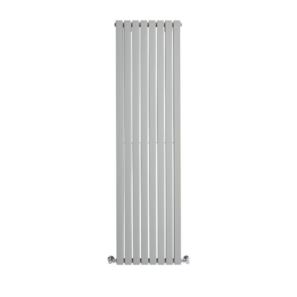 Sloane Designradiator Verticaal Dubbel Paneel Licht Grijs 178cm x 47 ...